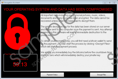 Decryption Assistant Ransomware Removal Guide