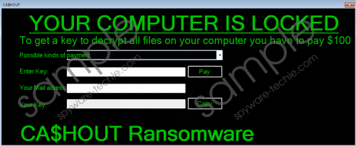 CA$HOUT Ransomware Removal Guide