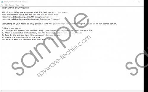 Mole02 Ransomware Removal Guide
