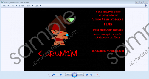Curumim Ransomware Removal Guide