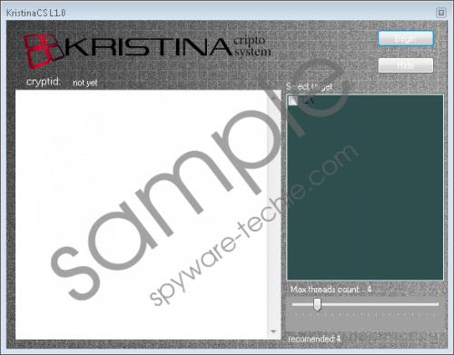 Kristina Ransomware Removal Guide