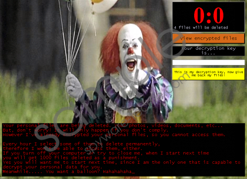 Pennywise Ransomware Removal Guide