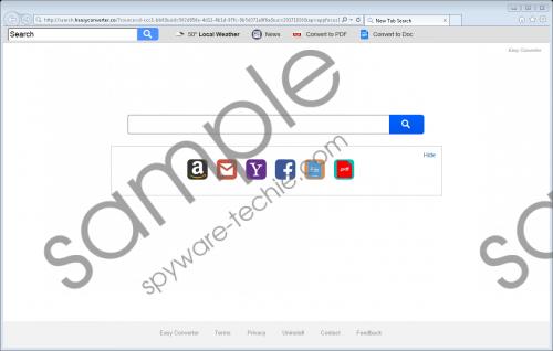 Search.heasyconverter.co Removal Guide