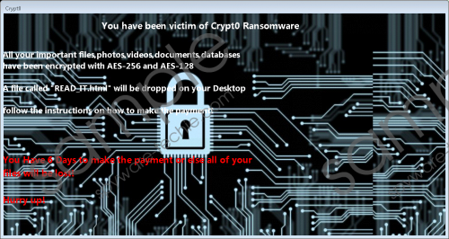 Crypt0 HT Ransomware Removal Guide