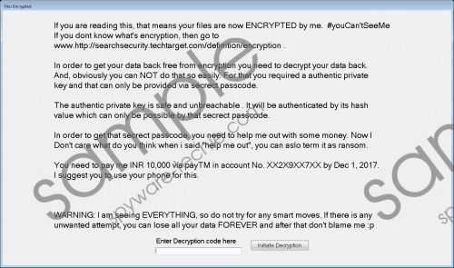 Igotyou Ransomware Removal Guide