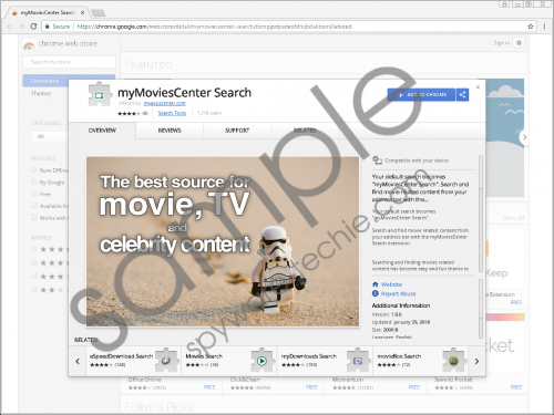 myMoviesCenter Search Removal Guide