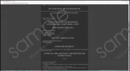 SuddenTax Ransomware Removal Guide