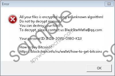 Xorist-XWZ Ransomware Removal Guide