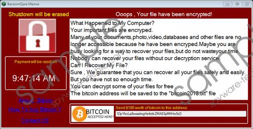 Bansomqare Wanna Ransomware Removal Guide