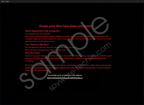 Uselessfiles Ransomware Removal Guide