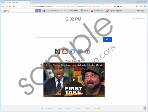 Search.heasysportsaccess.com Removal Guide